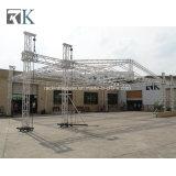 Estructura de la instalación de aluminio del braguero de la azotea de la etapa para el altavoz de las luces