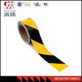 """Preto amarelo 2 """" X 30 pés de fita reflexiva da segurança"""