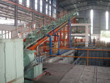 La coulée continue et système de laminage pour tige de cuivre