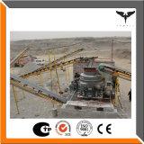 Steinzerkleinerungsmaschine-Zeile umfaßt Kiefer-Zerkleinerungsmaschine, Kegel-Zerkleinerungsmaschine und Virbrating Bildschirm