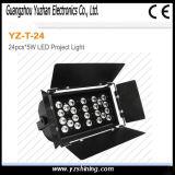 Luz de la arandela de la pared de la iluminación 108pcsx3w LED de la etapa LED RGBW