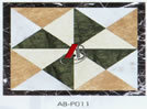자연적인 돌 대리석 모자이크 타일 및 패턴