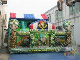 Campo da giuoco militare gonfiabile 2017 per i bambini