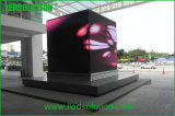 Ledsolution 실내 옥외 이음새가 없는 L 모양 구석 발광 다이오드 표시 스크린