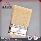 Cepillo de pintura puro similar de la cerda de la maneta de madera principal material del álamo de la cerda de la alta calidad PBT