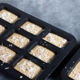 Лоток хлебца 9 полостей Bakeware алюминиевый крепко анодированный маленькая (MY2851H)