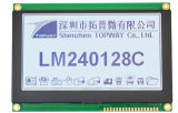240X128 Grafische die LCD van de MAÏSKOLF Module wijd op de Industriële LCD Leverancier wordt gebruikt van de Vertoning (LM240128C)
