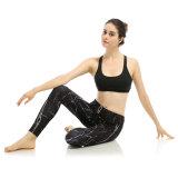 Pantalon de yoga de femmes de gymnastique de forme physique d'exercice de séance d'entraînement de mode