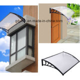 Hot Sale Outdoor clair auvent en polycarbonate de vitre de porte (AA800-B)