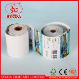 Rolos de papel personalizados NCR de 63G para uso em banco