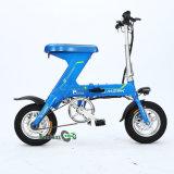 Uno-Bici plegable eléctrica Ebike del rango de 60 kilómetros
