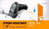Ordinateur de poche à grande vitesse à haut-parleur de 32 bits Scanner de code à barres laser 1d, USB / RS232 / Ko Wedge disponible, Mj2808