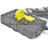 4 prises de courant de protection contre les surtensions avec 2 ports de charge USB (5V / 2.1A)