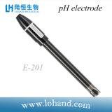 Punta de prueba de mano al por mayor del medidor de pH del conector de BNC (E-201)