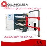 Machine de fente à grande vitesse de Web de série de Fhqa