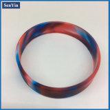 Mischfarben-Tarnung-kundenspezifisches Großserienfertigungs-Silikon-Armband