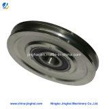 OEM / ODM Usinage CNC Roue à poudre en acier au carbone avec traitement au zinc