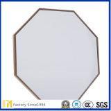 工場低いPrice3mm、4mm、5mmはFramelessのSGS Inspecitonが付いている円形の装飾的な壁ミラーに斜角を付けた