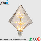 CE UL caliente blanco diseño creativo 3W LED bulbo decorativo