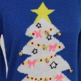Prenda de Natal da Camisola Ladeis em Jacquard Design e Qualidade Acrílica Soft Handfeel