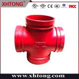 Xinhuitong approuvé FM/UL Ce raccord de tuyau cannelé sur la protection incendie