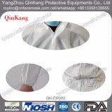 Roupa protetora descartável impermeável, combinação total do Workwear, combinação da laranja da segurança