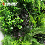 Jardin dernière conception panneaux vert mur artificiel de plein air