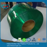 Freies Beispielantistatischer Grün 2mm starker Belüftung-Streifen-Tür-Vorhang Rolls