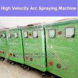 Equipo del mantenimiento de la capa protectora para la máquina corrosiva del rociado por arco del ambiente con el arma de la antorcha del tirón/del empuje del aerosol