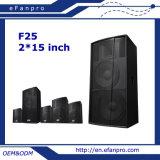 Lautsprecher-Fußboden-Monitor-Studio des Zoll-2*15 (F25 - TAKT)
