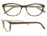 최신 판매 형식 여자 아세테이트 광학 프레임 다채로운 Eyewear