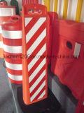 Dispositif de verrouillage T-Handle Semeraed Framwork 1110mm Panneau d'avertissement avec base en caoutchouc