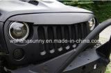 Het hoogste Traliewerk van het Traliewerk van de Vogel van de Verkoop Boze Zwarte Voor met Tussenvoegsels voor Jeep Wrangler