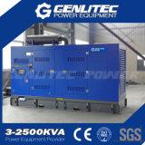 Комплект генератора силы звукоизоляционный 320kw 400kVA Genlitec Perkins тепловозный