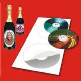 높은 광택 있는 CD 레이블
