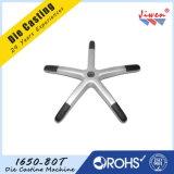 Алюминиевый стул офиса заливки формы разделяет основание 5 звезд