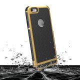 3 en 1 caja a prueba de choques antirresbaladiza del teléfono de la armadura para el iPhone 7/6/6s