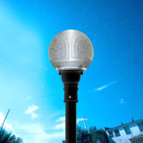 High Power 10W recarregável Street Solar LED Light Garden Lamp