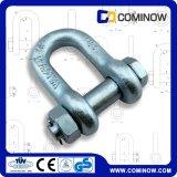 高力G2150低下はボルトおよびナット/炭素鋼のアンカー鎖の手錠が付いているDの手錠を造った