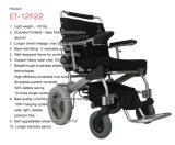 Neuer faltender Energien-Rollstuhl, faltendes behindertes leichtes Cer genehmigte 8 '' 12 '' 1 zweiter faltender Energien-elektrischer Rollstuhl, Ez heller Kreuzer 8 '' 12 ''