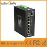 4 Megabites los accesos de 2 gigabites manejaron el interruptor industrial de Ethernet del Poe