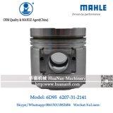 Komatsu 6D95 S6d95 do Pistão do Motor em Mahle Brand