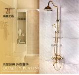 Jeu multifonctionnel en laiton en céramique de douche de pluie Zf-42 d'antiquité intemporelle de style de vie
