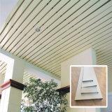 Azulejo de aluminio del techo de la tira del material de construcción con precio de fábrica