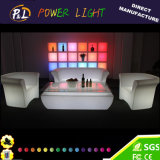 Barre rechargeable du plastique DEL de meubles lumineux de barre