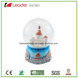 Глобус снежка корабля Polyresin с пляжем для домашнего подарка украшения и сувенира