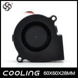 Ventilador del centrífugo de la C.C. de la parte radial del ventilador 60X60X25m m del ventilador del precio de fábrica 12V 60m m