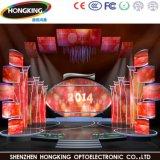 Chipshow P3.91 LED 실내 전시 화면 LED 벽 임대료