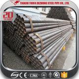 Venda quente tamanho da tubulação de 1 polegada no aço de carbono soldado ERW