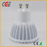 bulbo/luz do ponto do diodo emissor de luz de 5W GU10 com Ce & certificados de RoHS